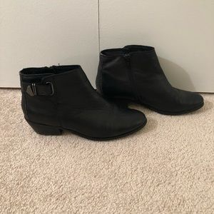 Women's Aldo Leather Ankle Boot